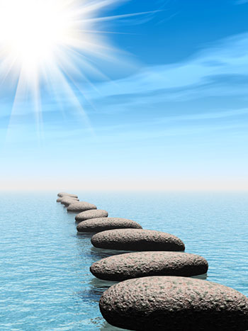 Row of Stones for Mediumship